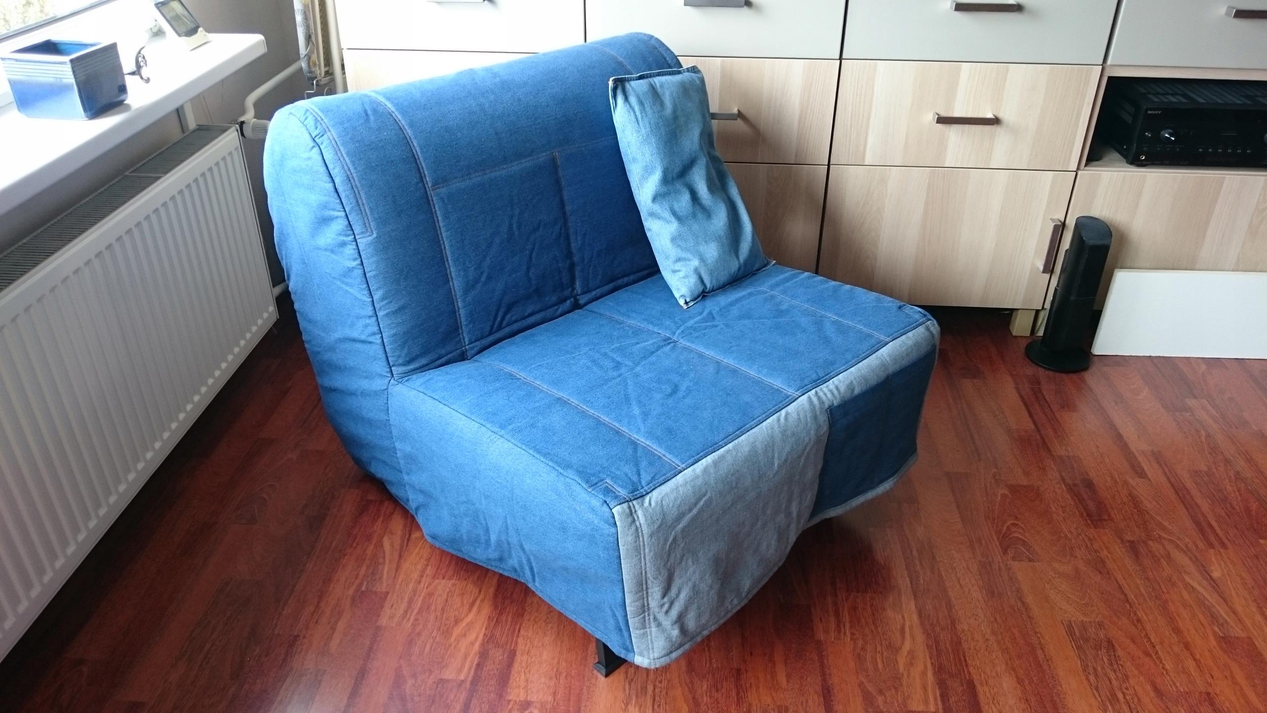 Fotel Rozkładany łóżko Ikea 7553329129 Oficjalne