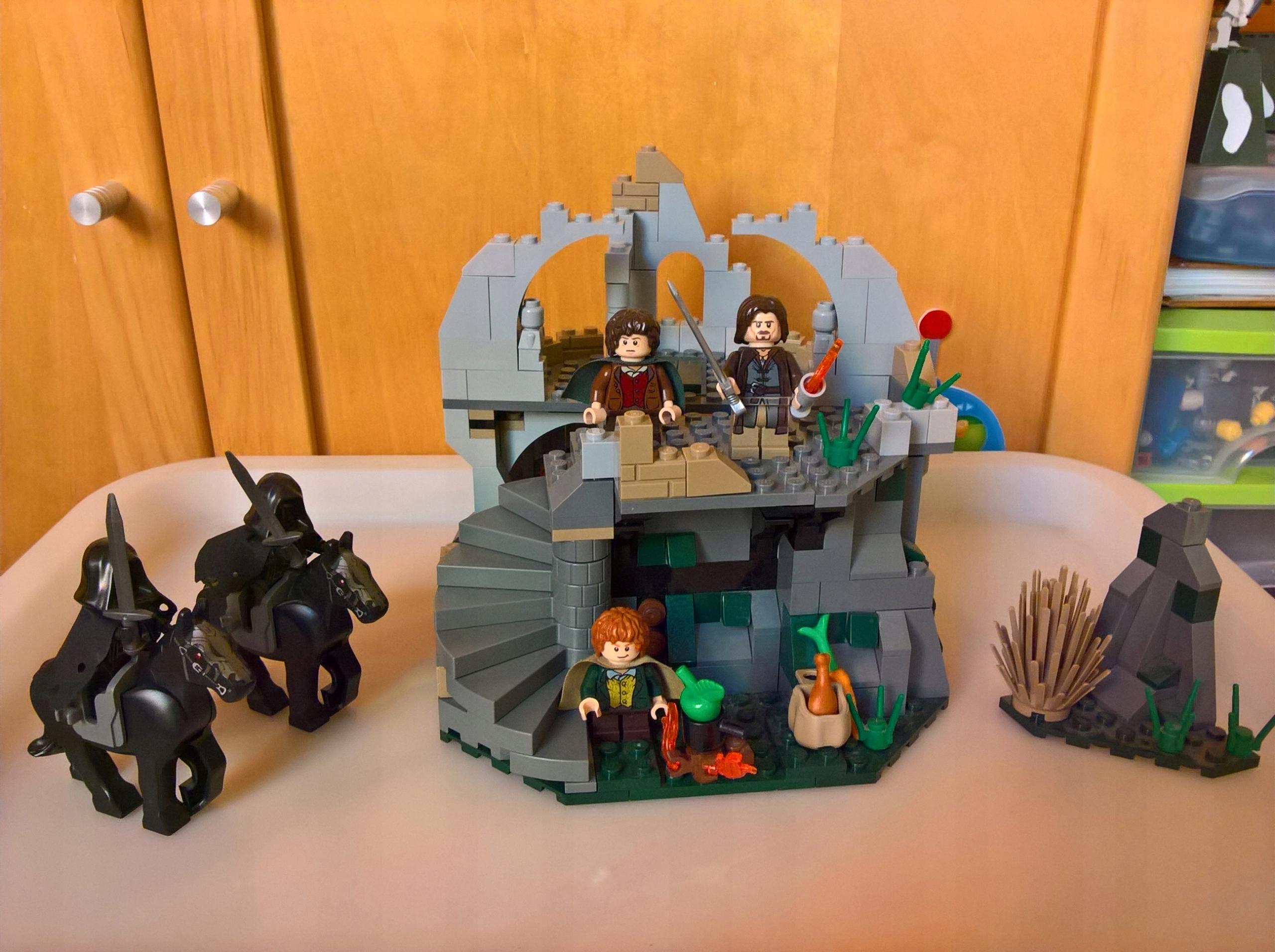 Lego Władca Pierścieni 9472 Atak Na Wichrowy Czub 7516795994