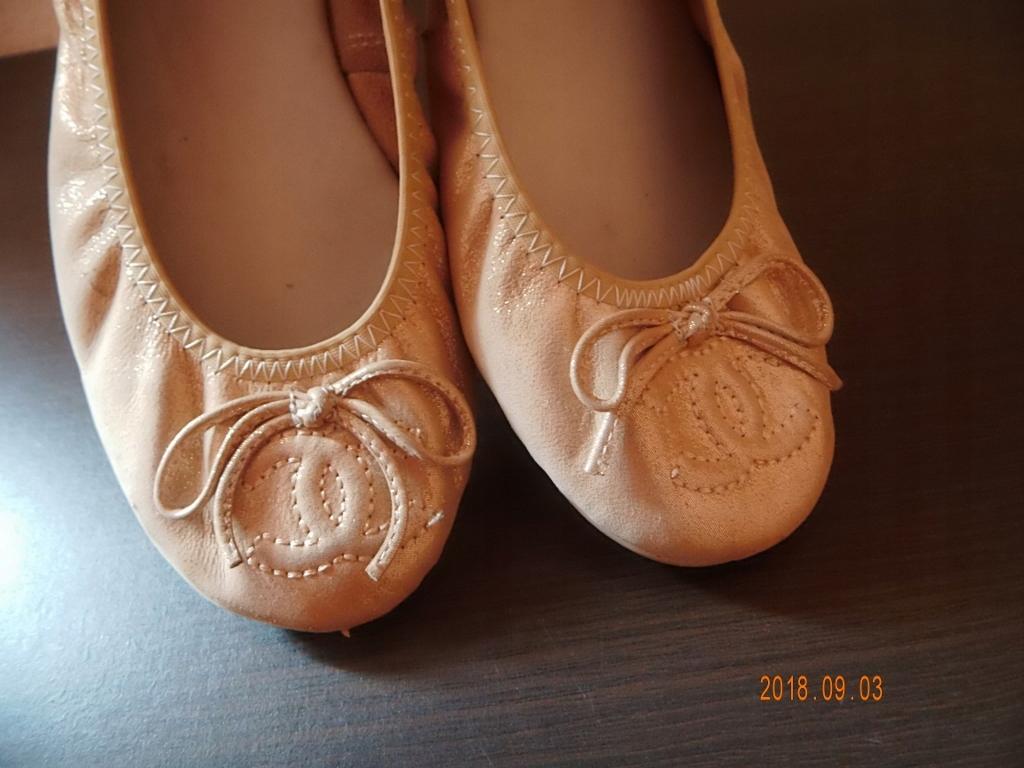 bfea04d2 CHANEL buty,baleriny,skóra naturalna,r.37 - 7678741063 - oficjalne ...