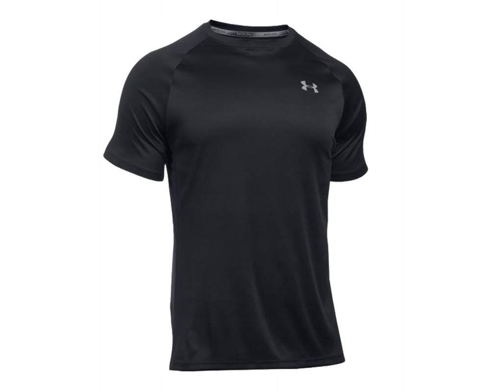24b27abf2 Koszulka Under Armour Heatgear Run S/S Tee Blk XXL - 7584773217 ...