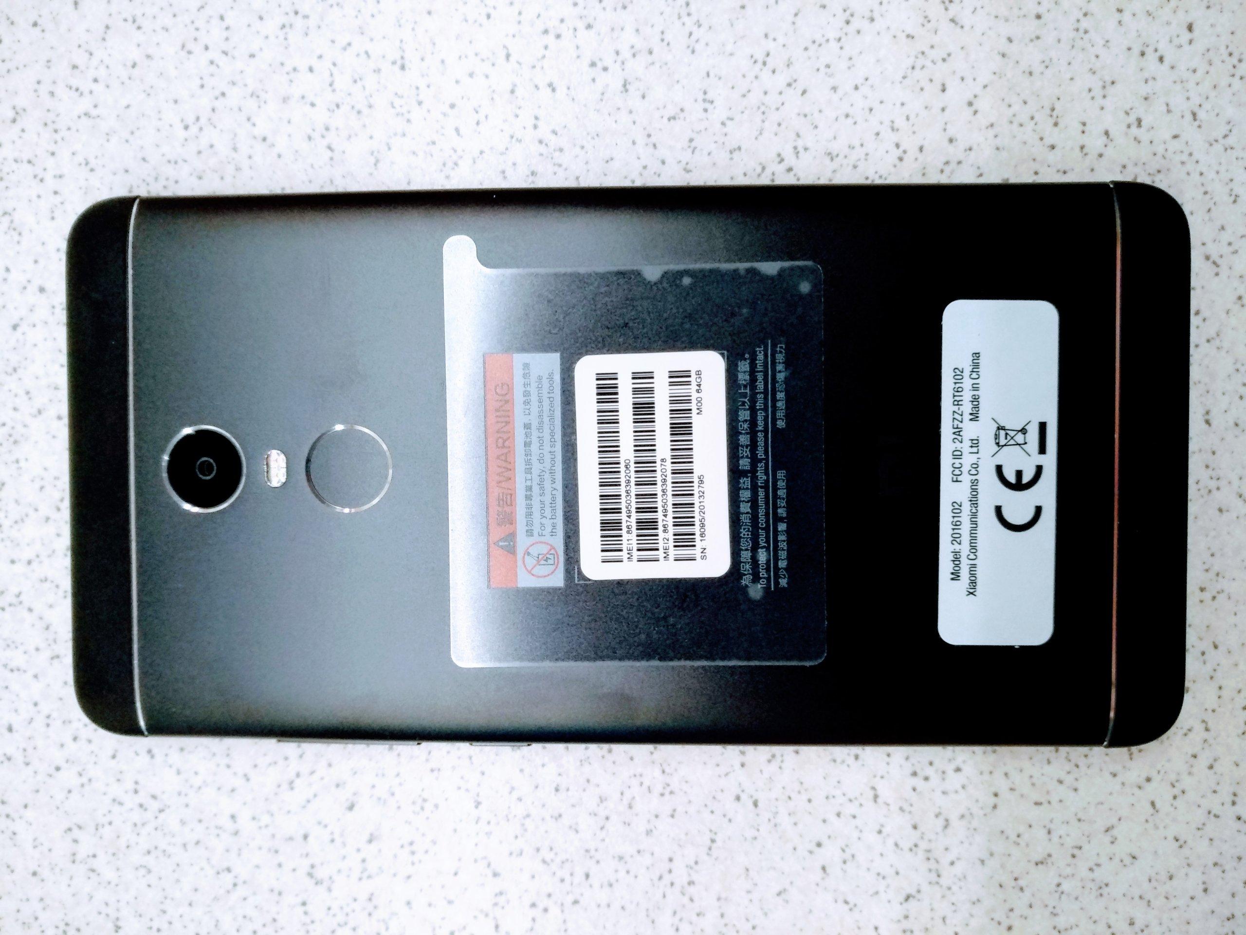 """Xiaomi Redmi Note 4 4 64GB KRAK""""W NOWY OD RĘKI"""