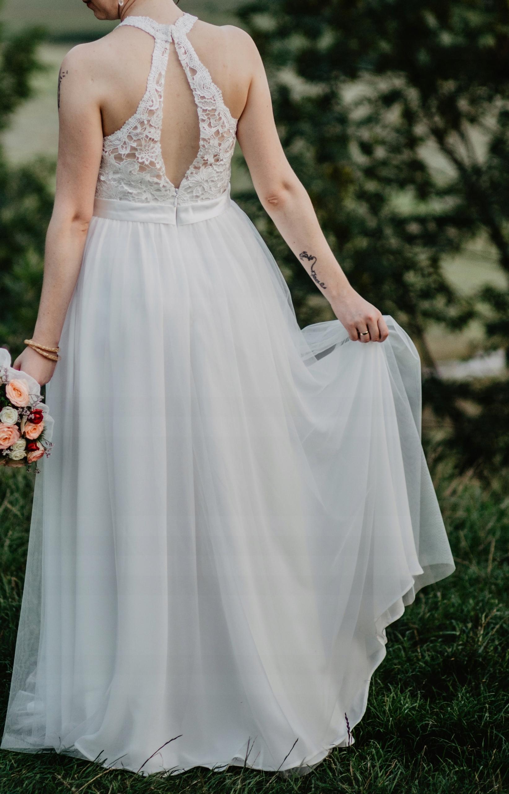 e12dcdb5ad Suknia ślubna Używana 7579425362 Oficjalne Archiwum Allegro
