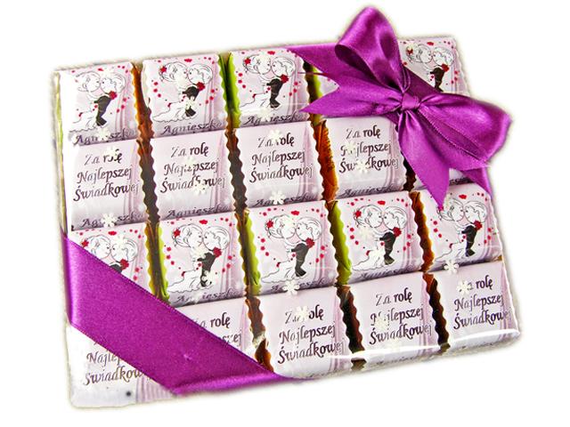 Foto czekoladki bombonierka 20szt KOMUNIA HIT