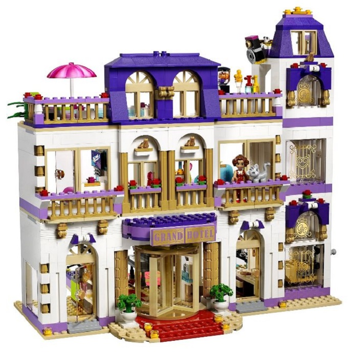 LEGO FRIENDS 41101 GRAND HOTEL W HEARTLAKE - 7451302414 ...