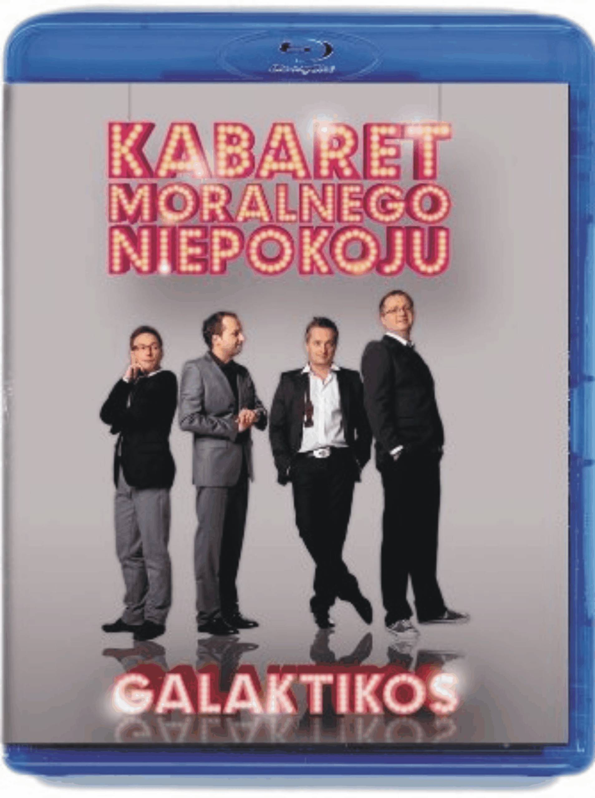 Kabaret Moralnego Niepokoju - Galaktikos BLU-RAY