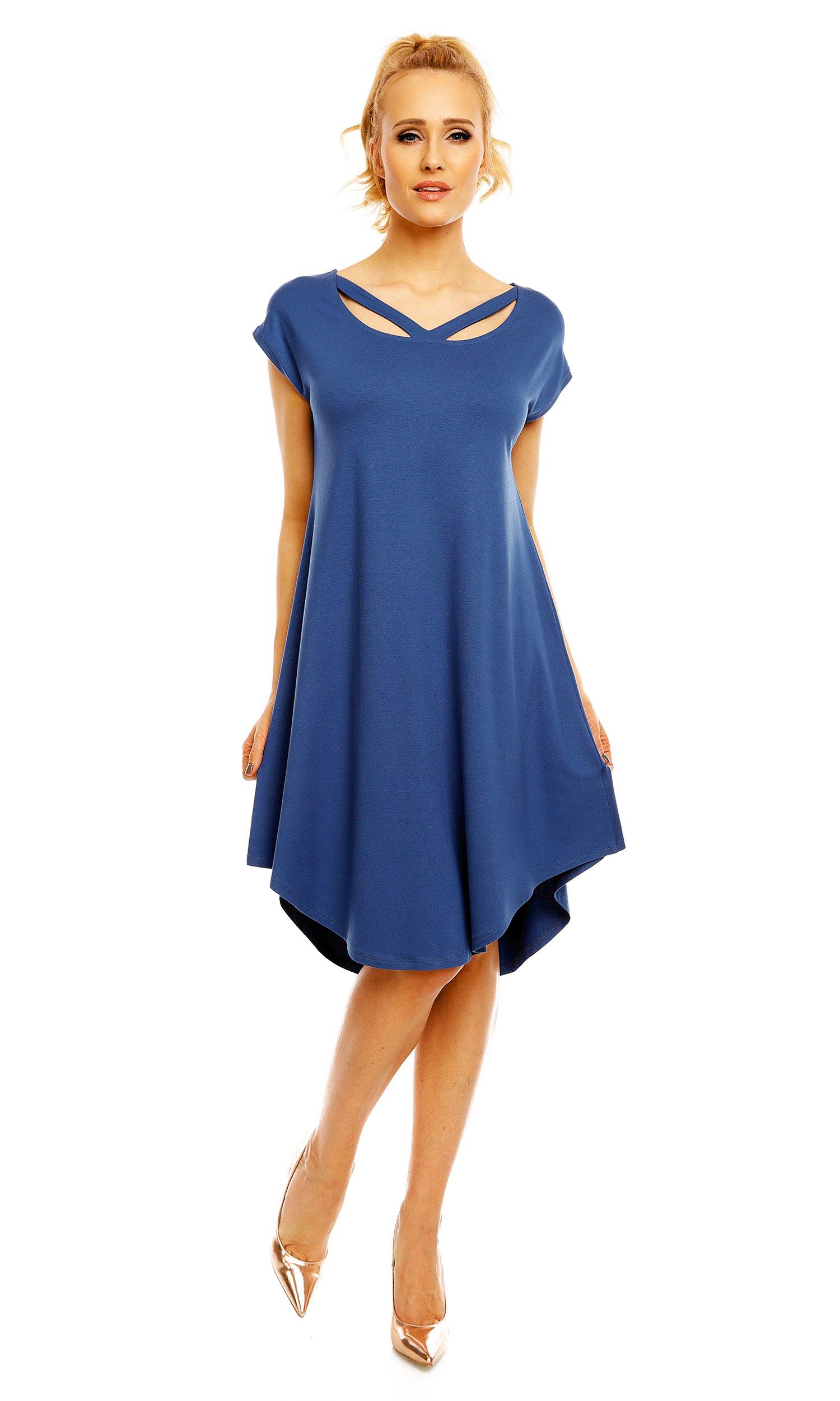 974b6bbc 95 - Sukienka Wiki LENTAL - 33 kolory - S/M - 6976452757 - oficjalne ...