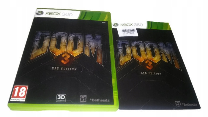 DOOM 3 BFG EDITION XBOX 360 XBOX ONE - 7537940604