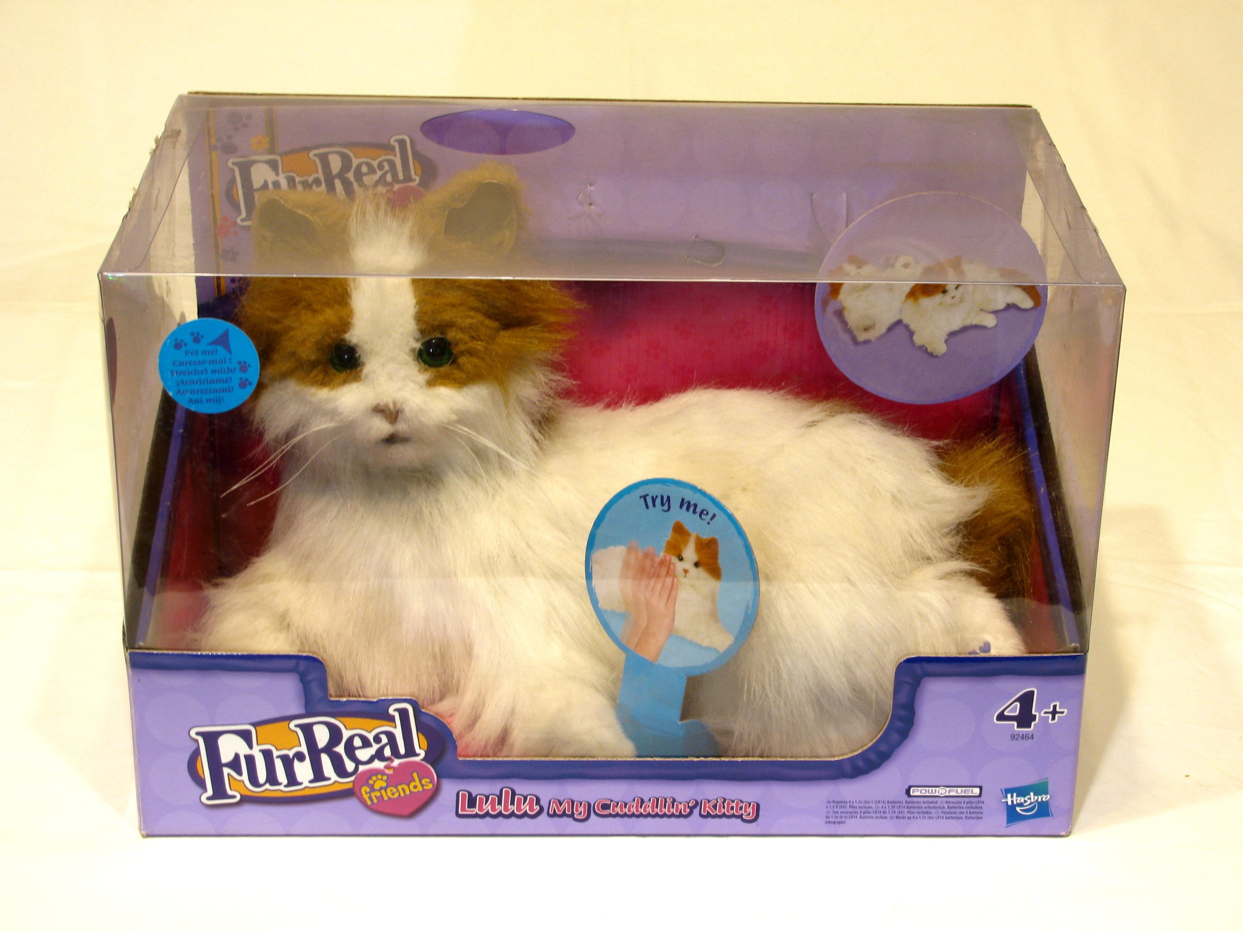 Kot Interaktywny Lulu Fur Real Friends Hasbro