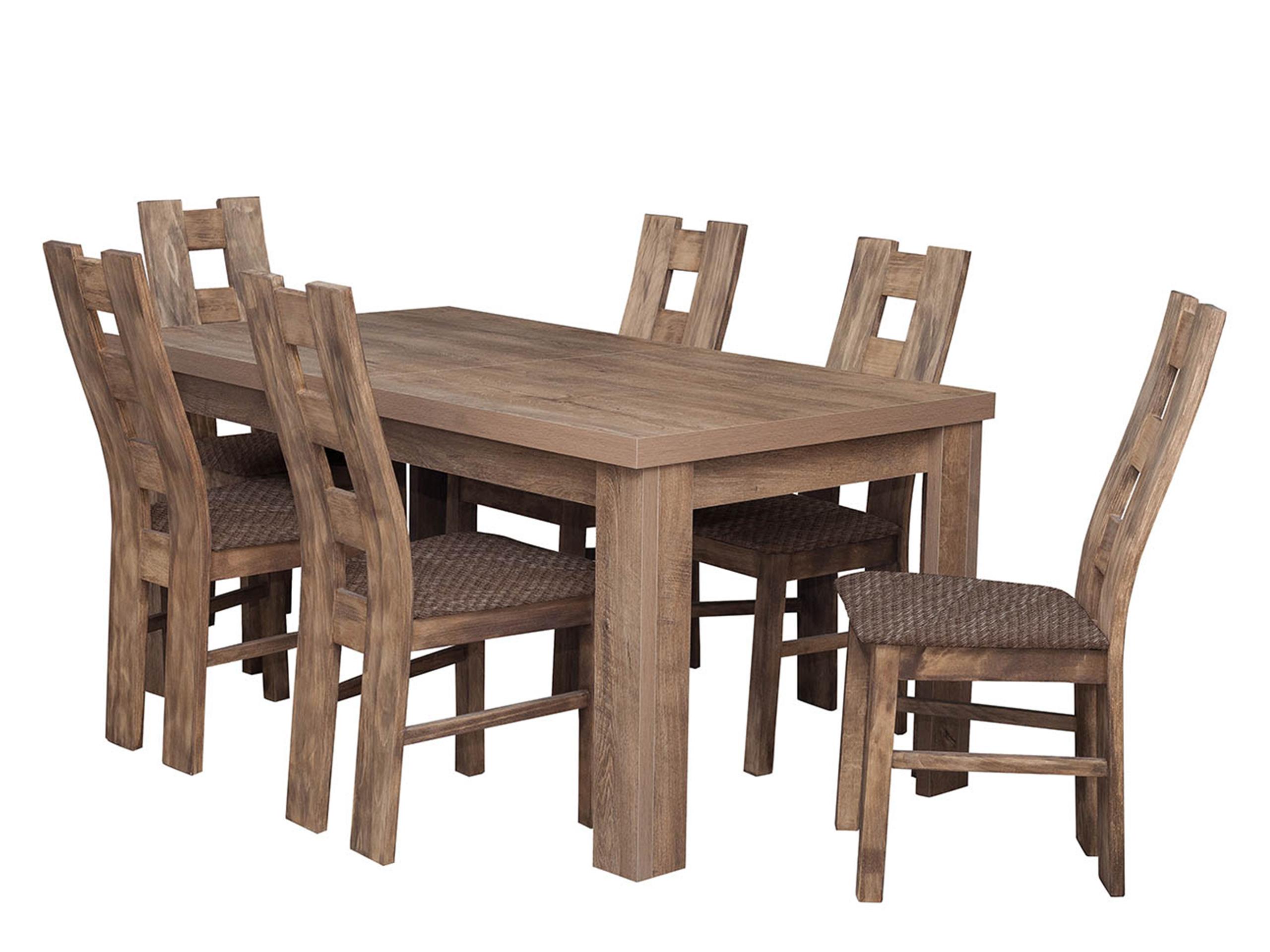 Zestaw Dla 6 Osób Antik Komplet Stół Krzesła 7176267138