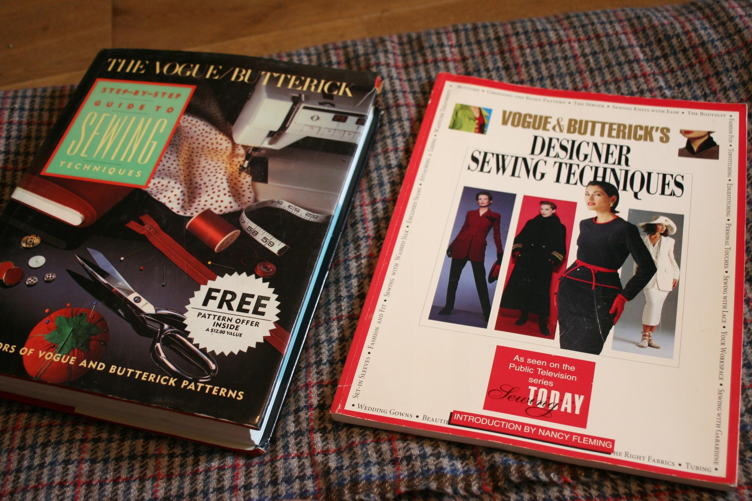 VOGUE BUTTERICK podręcznik vintage o szyciu 415 st
