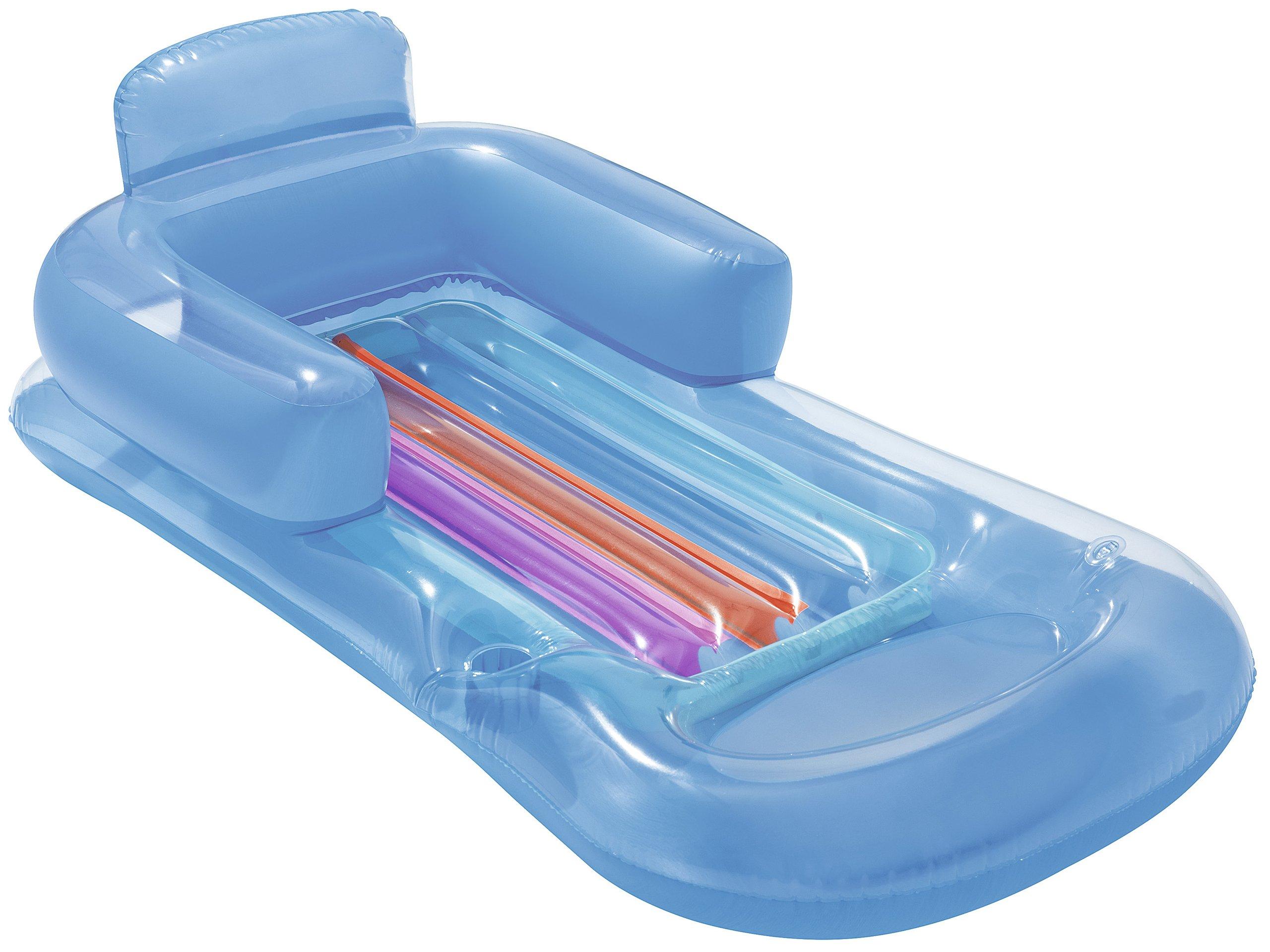 54a07a1117ad2a materac do pływania BESTWAY fotel z oparciem 161cm - 7226437462 ...