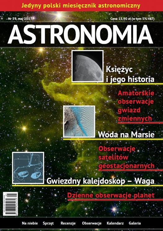 Astronomia MAJ 2017 nr 5/17 (59) WAW