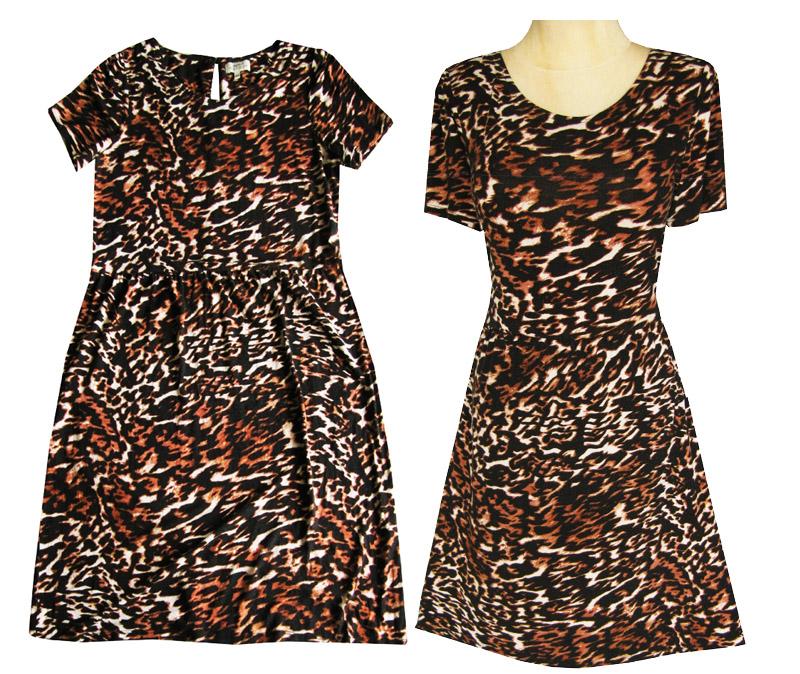 09f1915a2e PAPAYA Śliczna sukienka z dzianiny 48 - 7115070148 - oficjalne ...