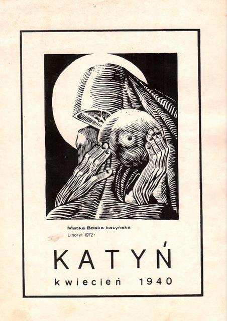 Matka Boska Katyńska Plakat
