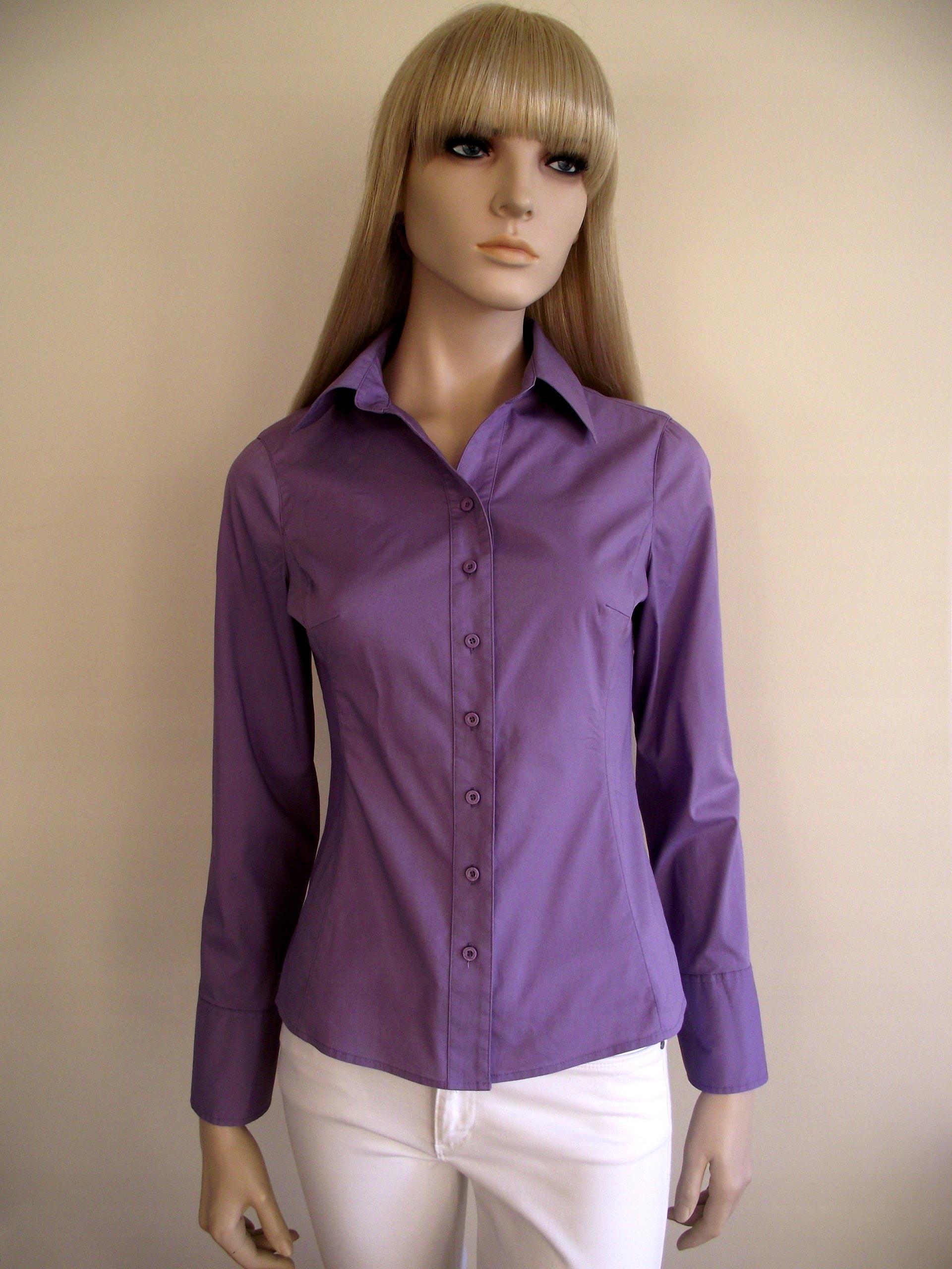 683e4c8a316abb Street One damska koszula z długim rękawem S/M - 7148918909 ...