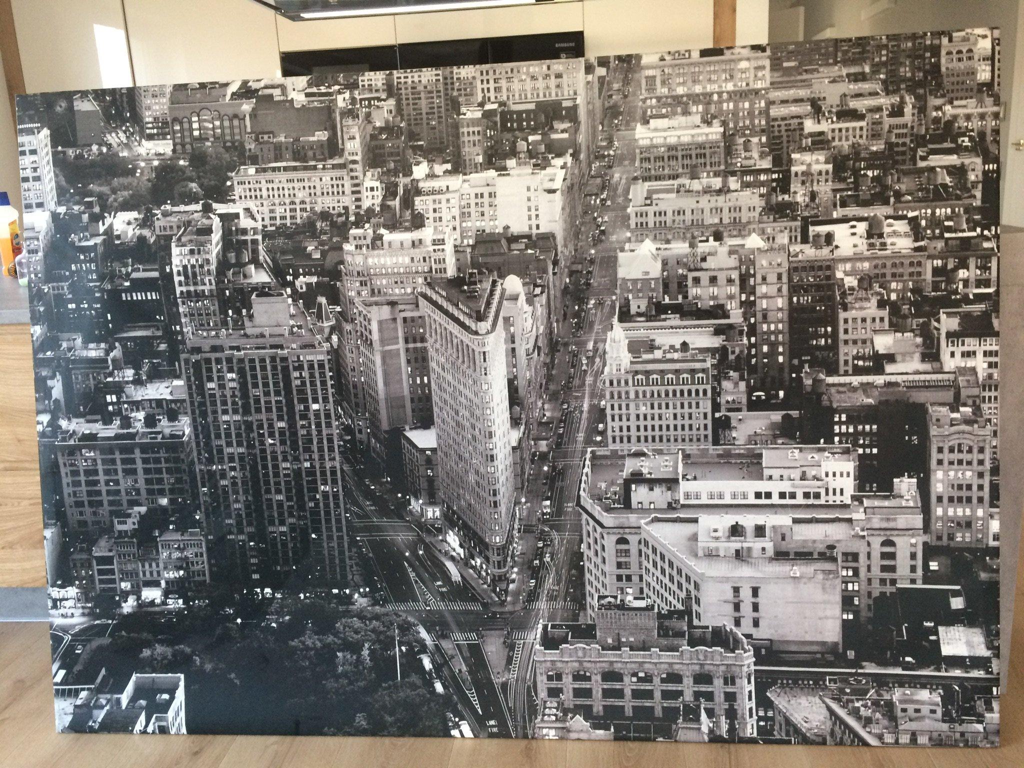 Duży Obraz Ikea Nowy York 7157441983 Oficjalne Archiwum
