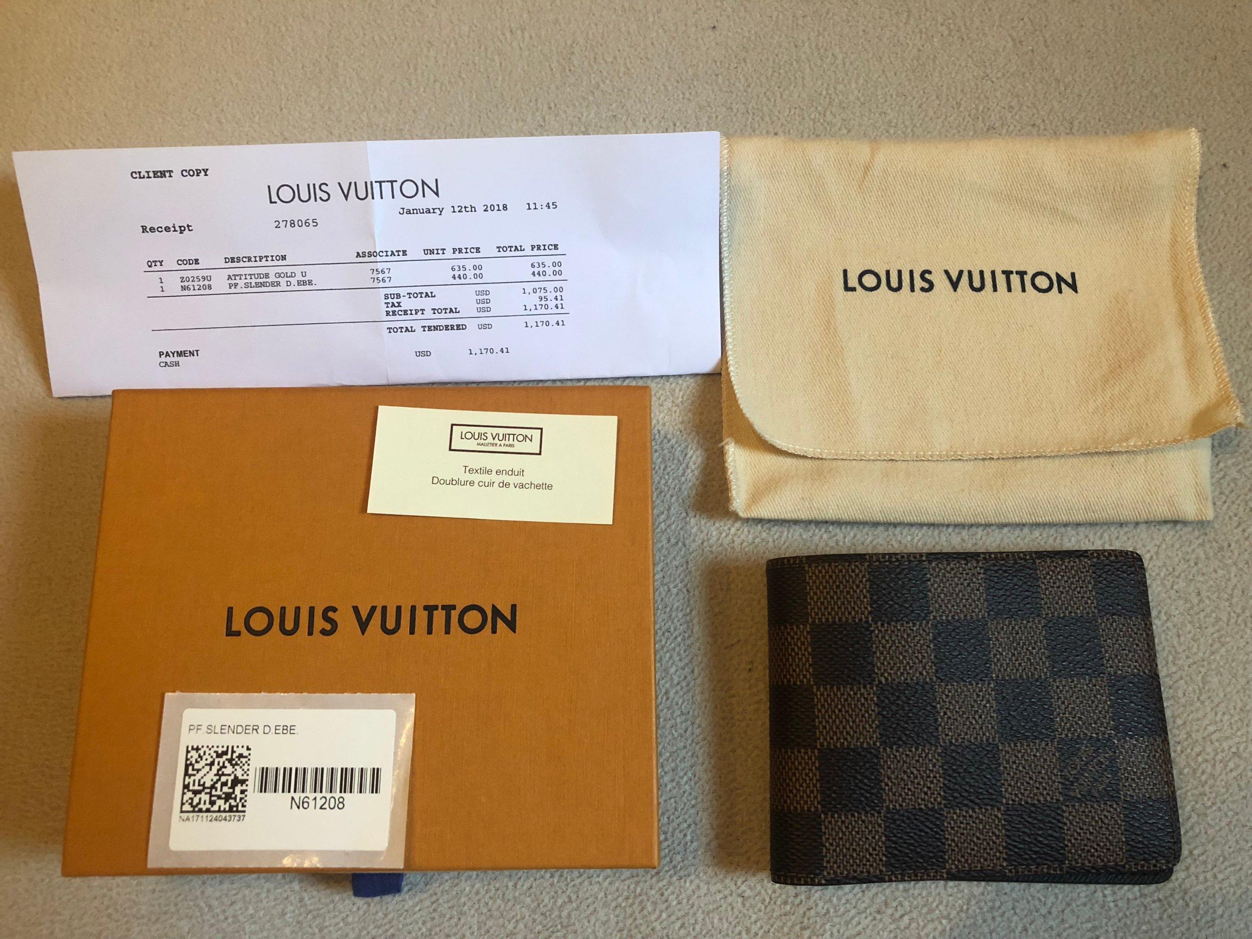 7cb3121a9280c Nowy Oryginalny Portfel Louis Vuitton Monogram - 7484979618 ...