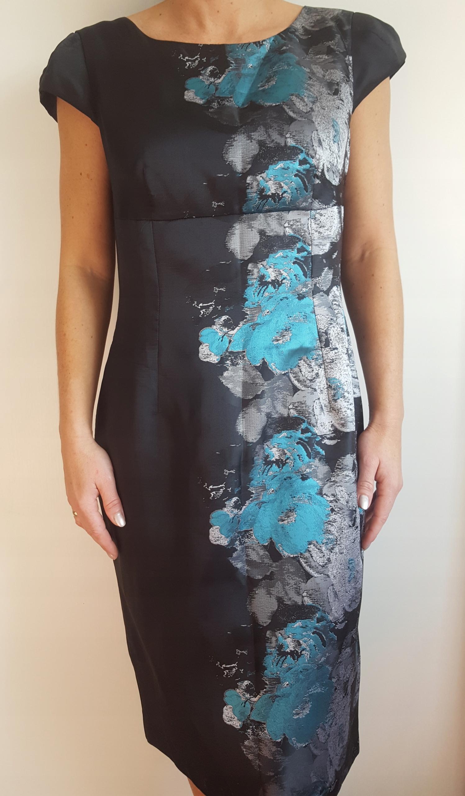 185c868b62 SALKO elegancka sukienka 38 K - 7622727609 - oficjalne archiwum allegro