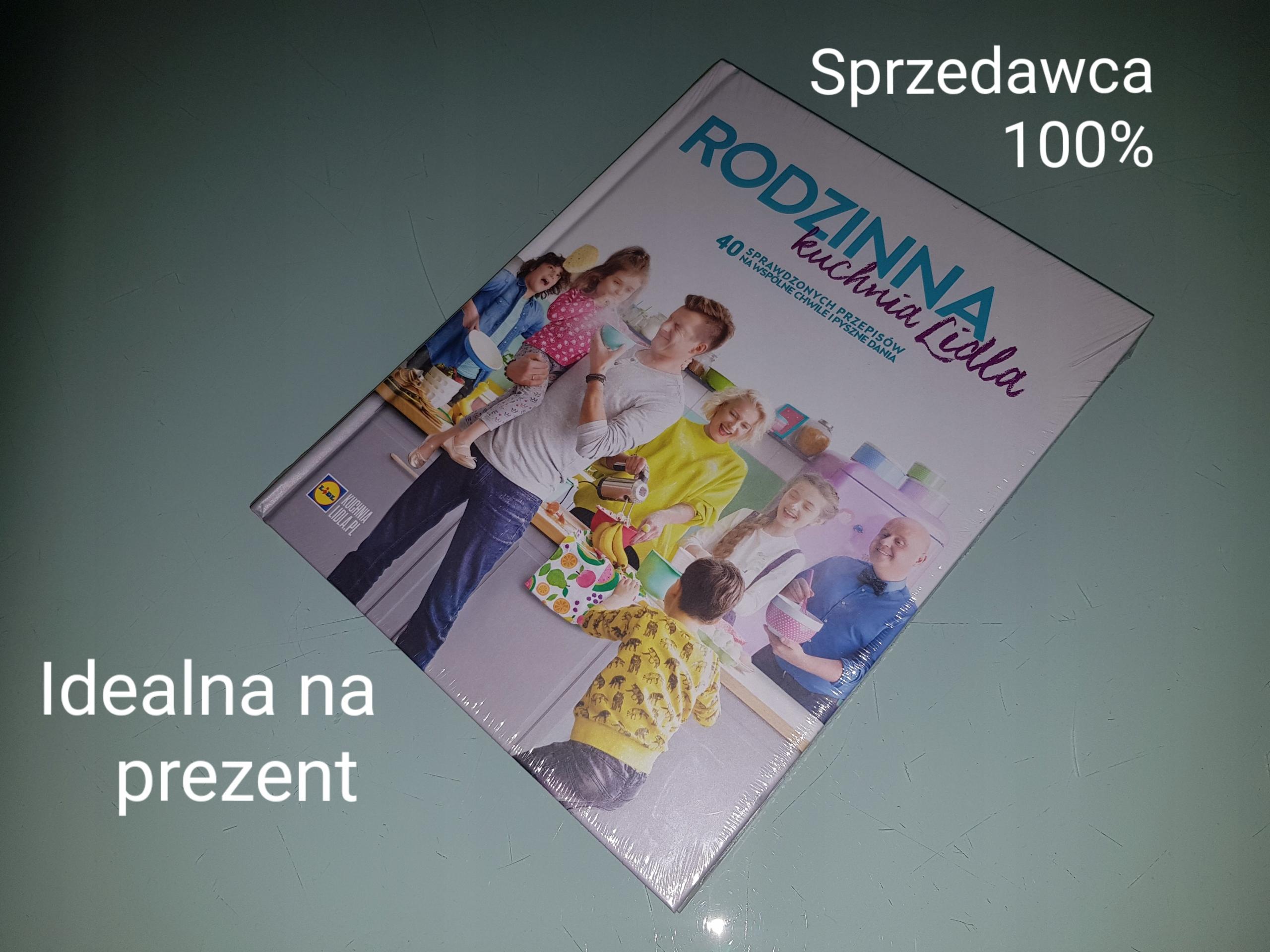 Książka Lidl Rodzinna Kuchnia Lidla Nowa Tanio