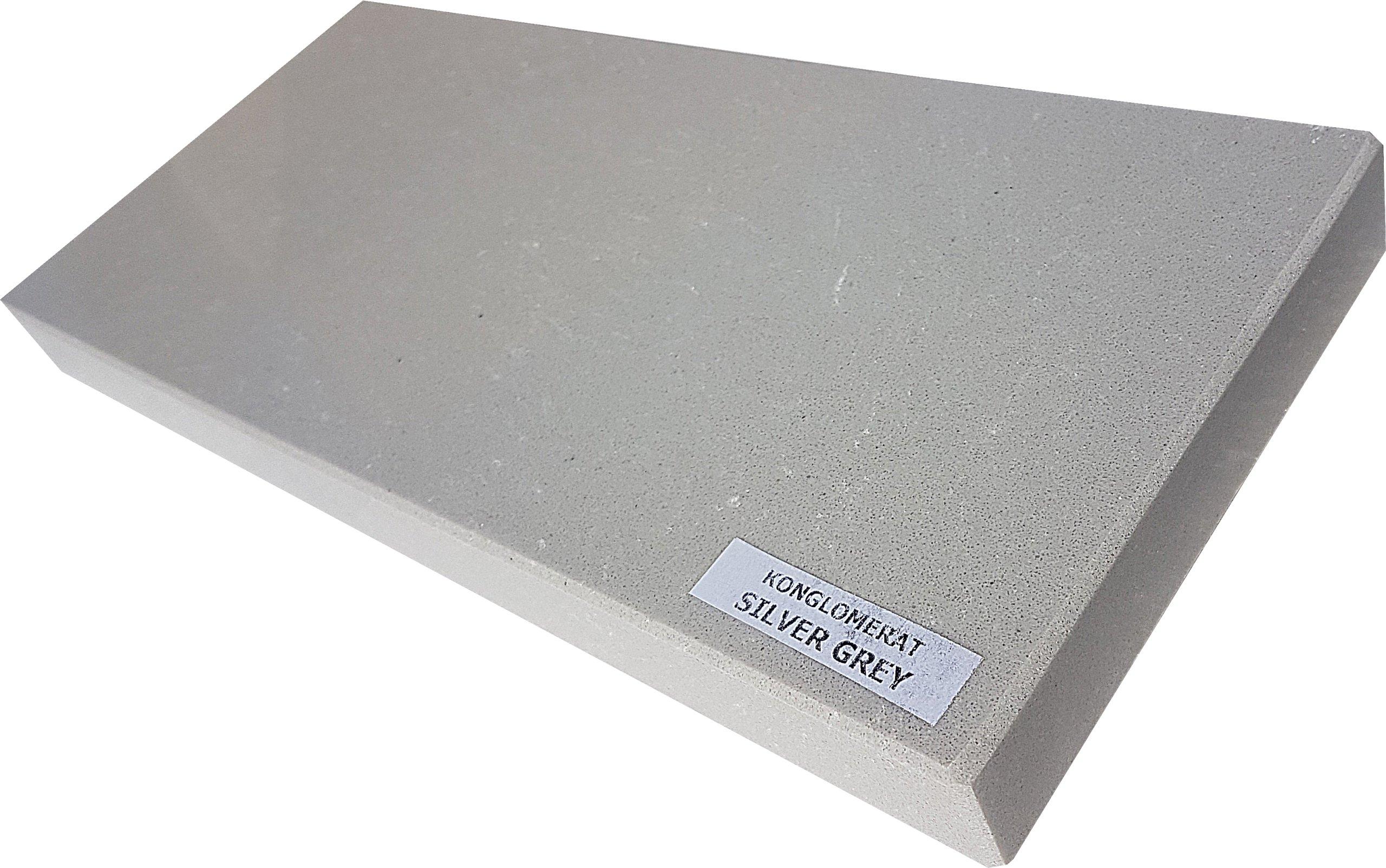Parapet Aglomarmur Silver Grey Gr 3 Cm 7306707533 Oficjalne