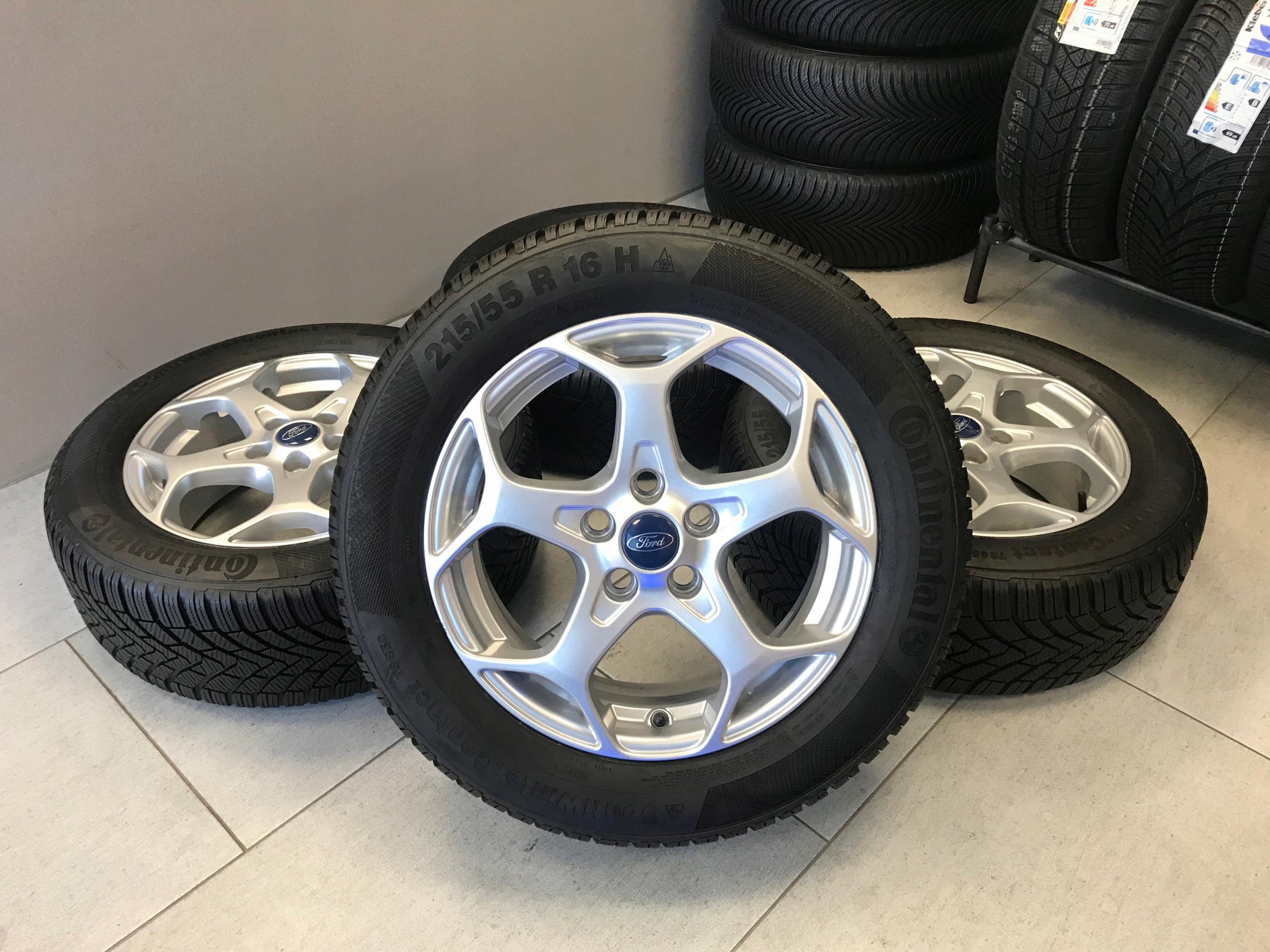 2155516 Koła Zimowe Ford Mondeo Mk3 Mk4 Focus 7608537795