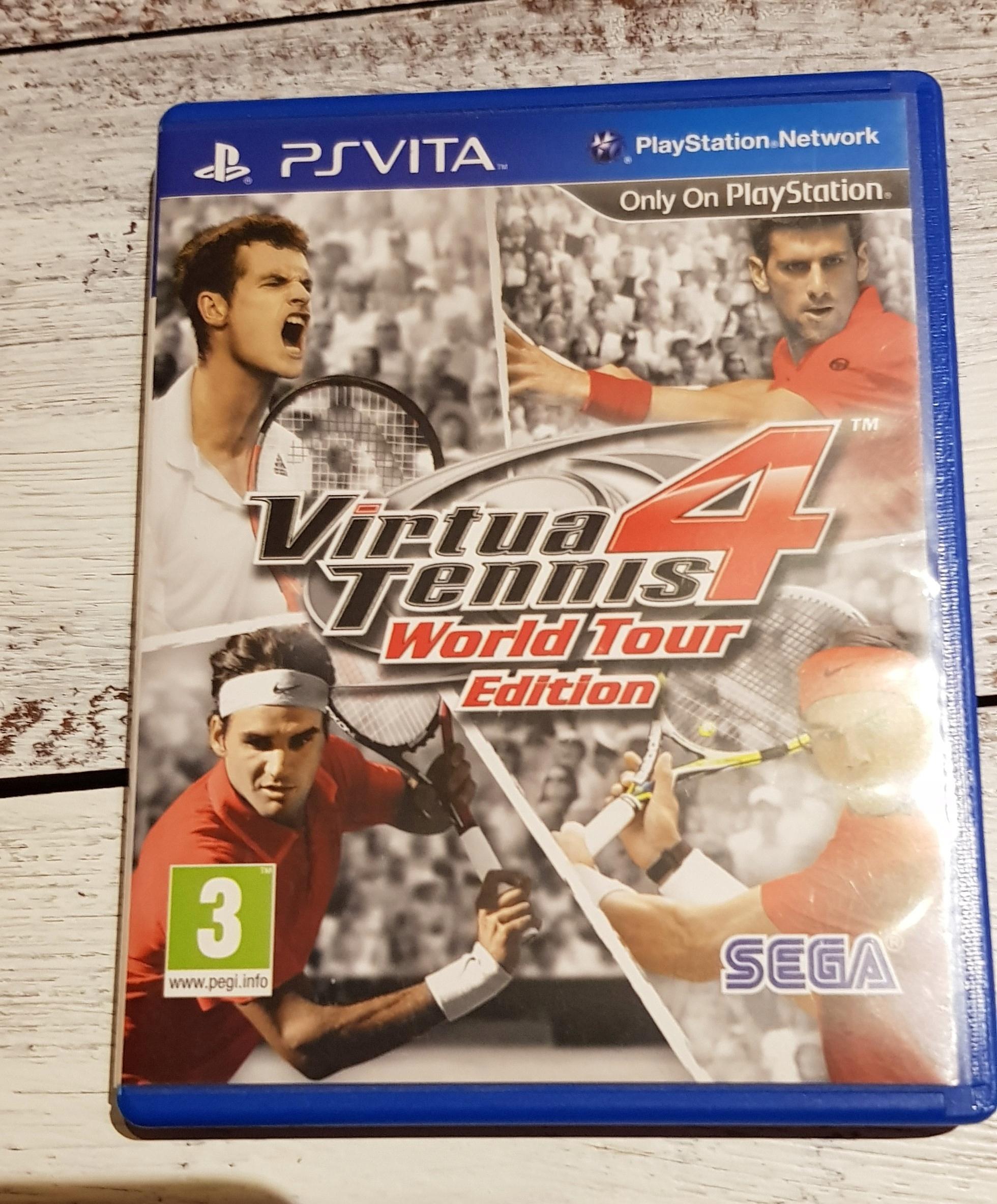 Virtua Tennis 4 World Tour Vita Angielski komplet