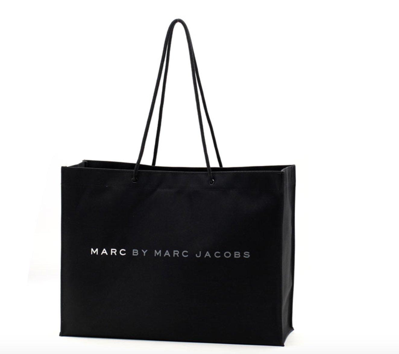 1819a2f163504 Marc By Marc Jacobs Czarna Eko Torba Shopper Bag - 7173959654 ...