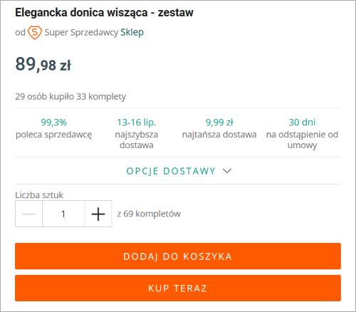 Kup Teraz Oraz Kupuje I Place Jak Szybko Kupic Przedmiot Pomoc Allegro