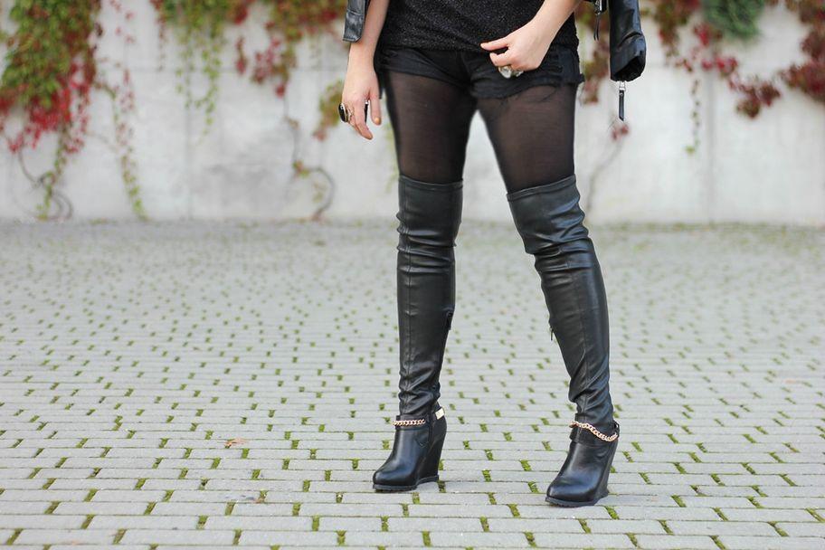 505316d873837 Modne kozaki za kolano – do jakiej figury i jak je nosić? - Allegro.pl