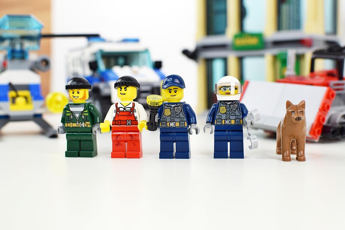 Fotografia 5 Mini figúrky hasičov