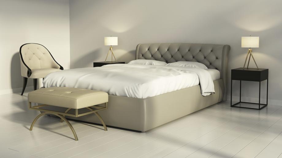 Tapicerowane łóżko Sposób Na Oryginalną Sypialnię