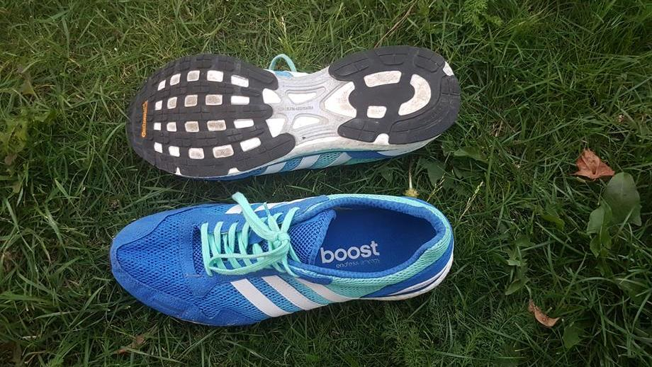 Duże zniżki Buty adidas Adizero Prime Boost LTD Niebieskie