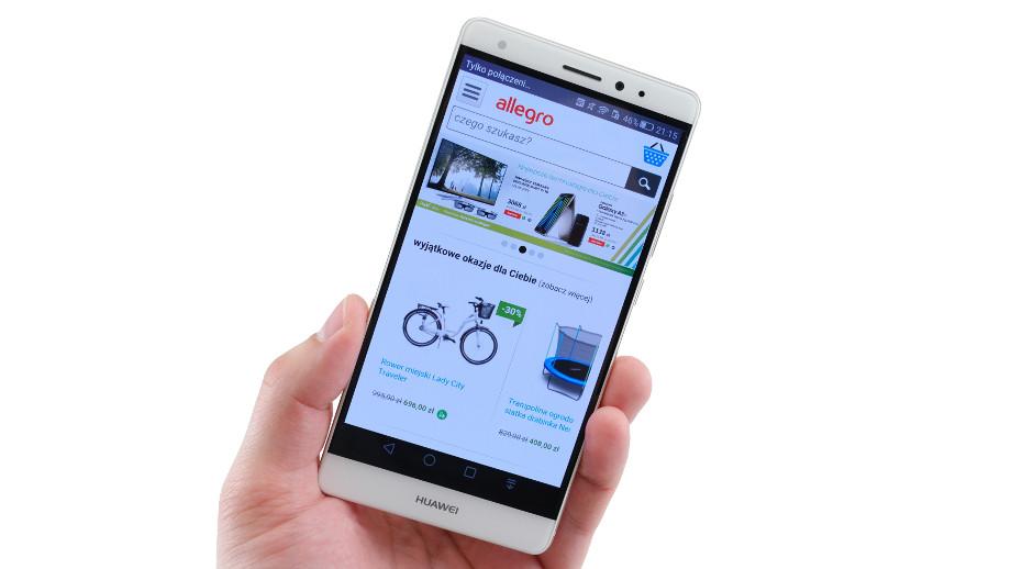 Huawei Mate S Test Przepieknego I Praktycznego Phableta Allegro Pl