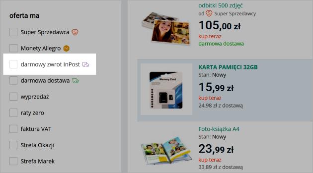 99cd70d751a0f3 Jeśli Kupujący wybierze ten sposób dostawy, wtedy w zakładce Sprzedane  zobaczysz informację o paczce do wysłania: nadaj paczki. Dostawę Allegro ...