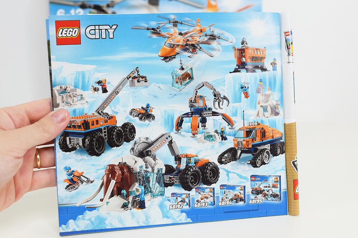 Celá séria Lego City súvisiacich s Arktídou