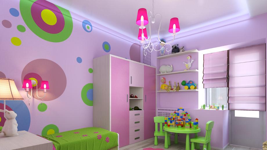 Żyrandol do pokoju dziecka ‒ ozdoba i źródło światła