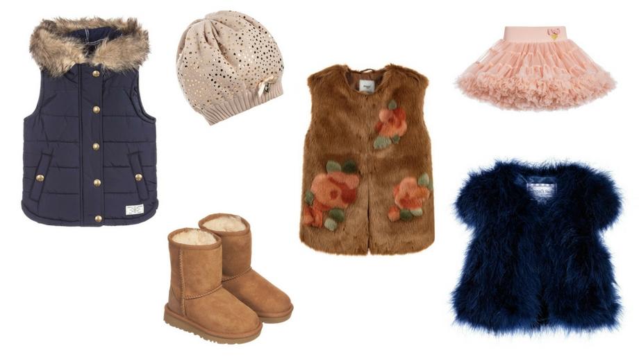 Ponadczasowy trend na jesień - futrzana kamizelka dla małej fashionistki