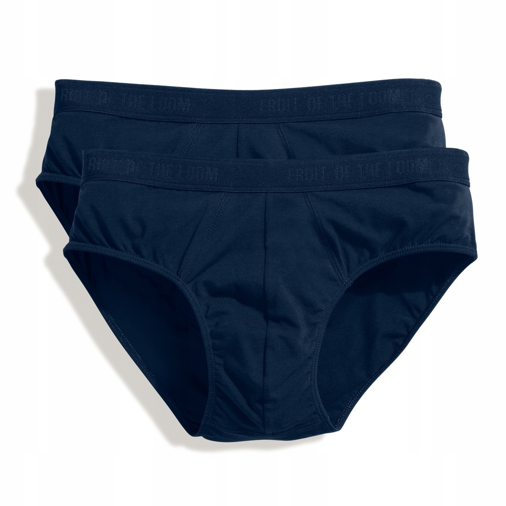 MĘSKIE SLIPY FRUIT OF THE LOOM SPORT NAVY XXL