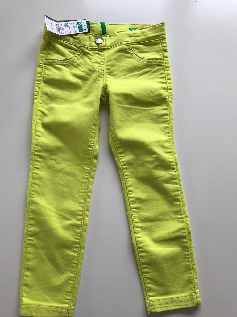 Benetton spodnie 110