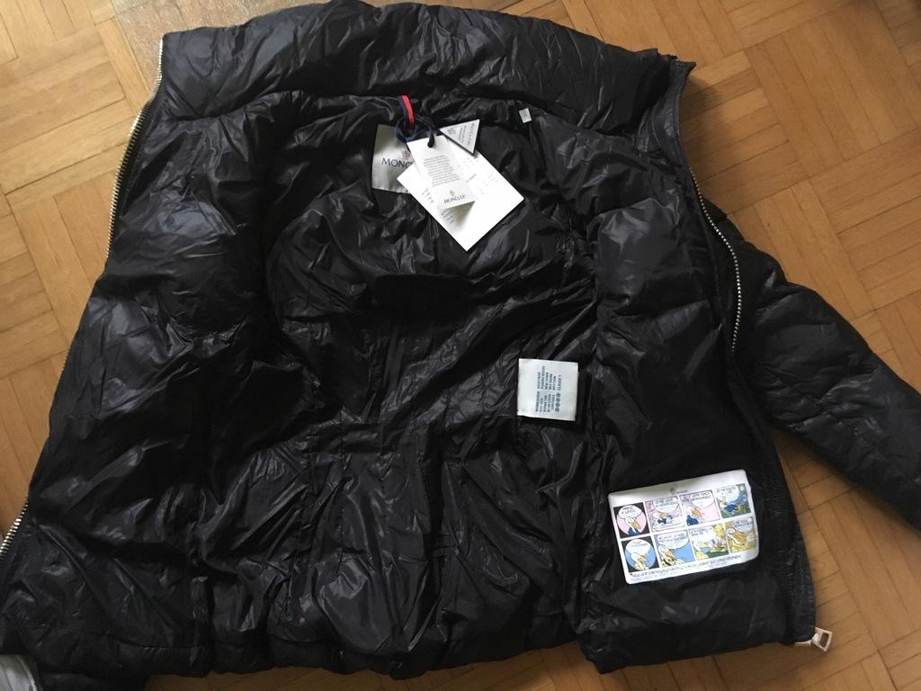 Moncler, rozmiar 1 kurtka puchowa hologram