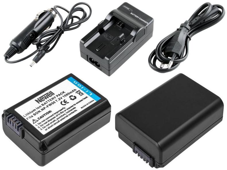 Akumulator + Ładowarka NEWELL NP FW50 Sony RX10 IV