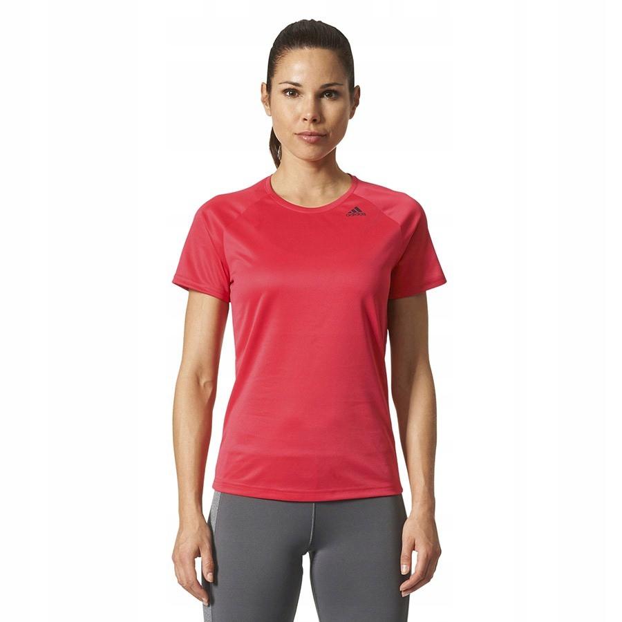 Koszulka adidas D2M Tee BQ5837 XS czerwony