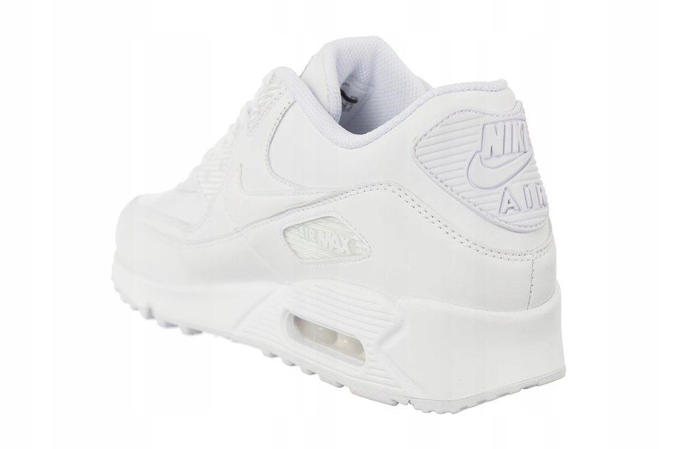 Białe Skórzane Buty Damskie Sportowe Nike r.42,5