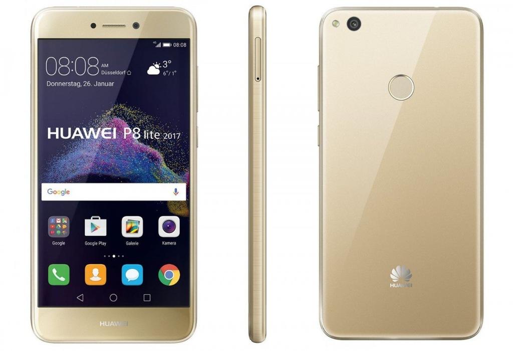 Huawei P8 Lite 2017 gold ZLOTY DUAL SIM GW FV23