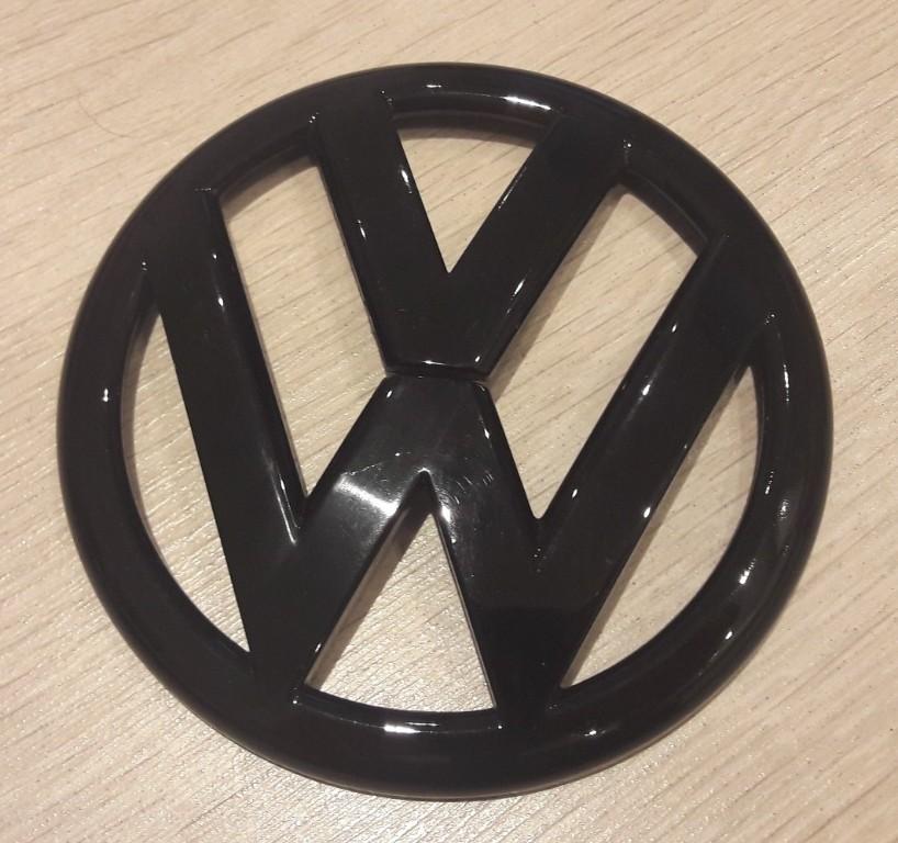 ______ logo tyl VW golf GTI 6 VI czarne nowe ____
