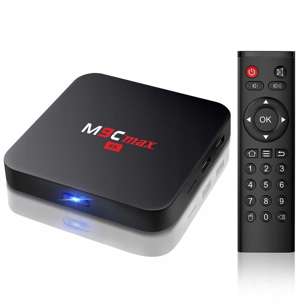 L182 Android TV Bqeel M9C Max S905X 2/16GB 4K HDMI