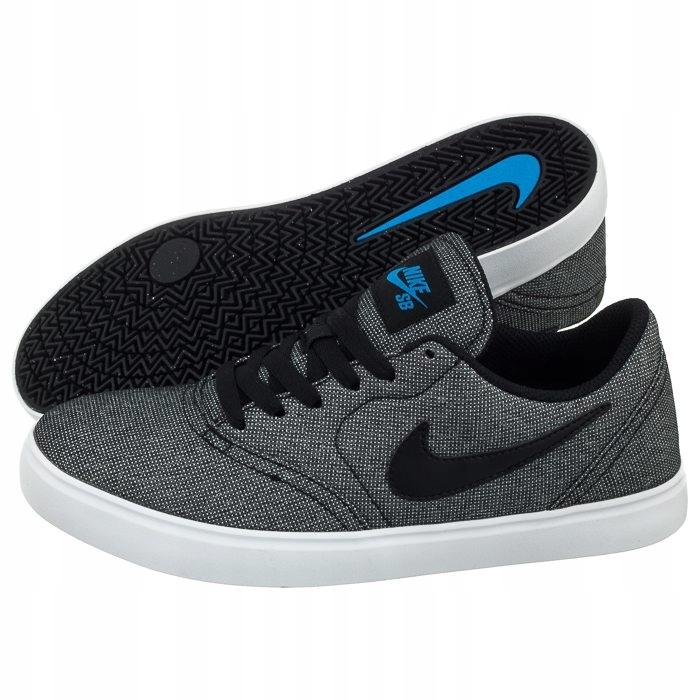 Buty Nike SB Check Cnvs (GS) 905373 008 Szare