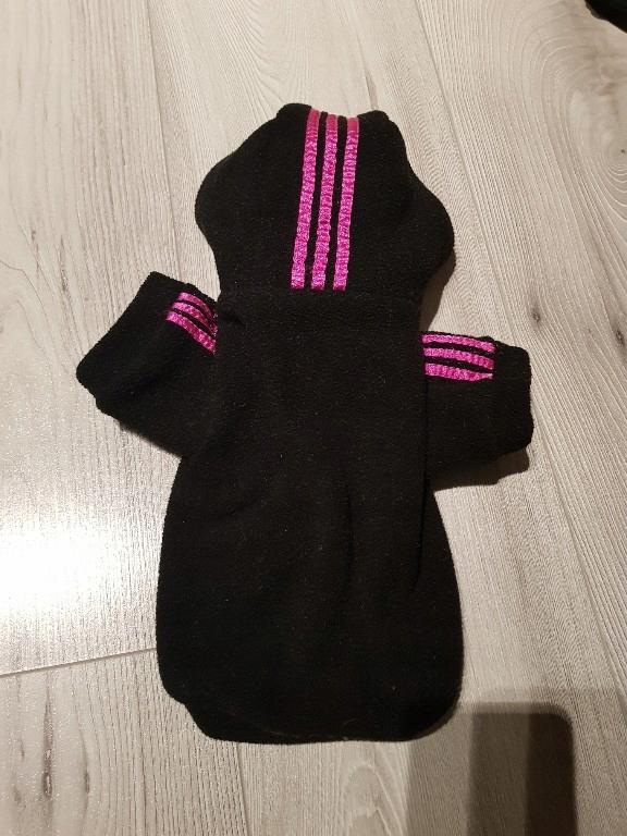 ubranie nowe dla psa yorka bluza adidas