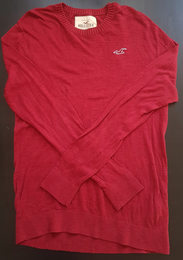 Hollister Co. FALEM CREW Sweter red