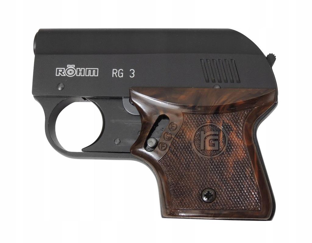 Pistolet hukowy straszak Rohm RG-3 6mm short